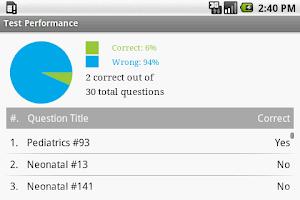Screenshot of CCNS Nursing Exam Prep