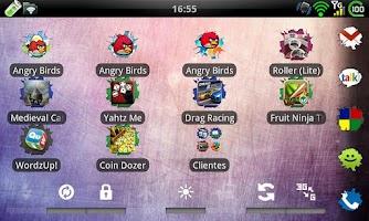 Screenshot of GO Launcher EX Broken Theme