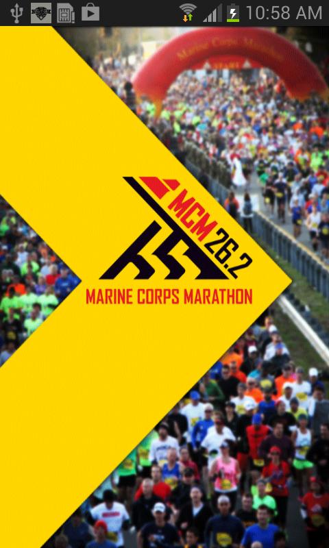 Marine Corps Marathon - screenshot