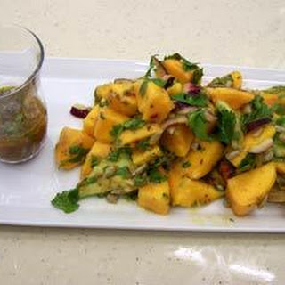 Mango and Avocado Salad with Chilli Vinaigrette Recipe