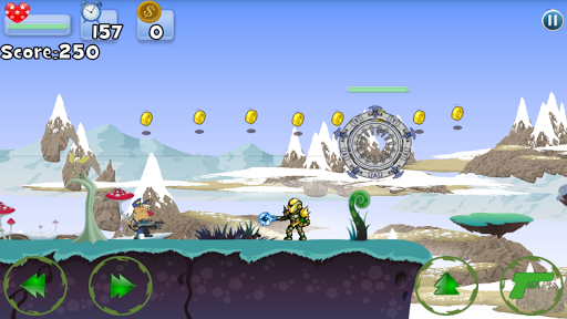 외계인 슈터 점프 배틀 :ufo shooter jump