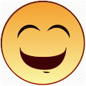 Laughing mad icon