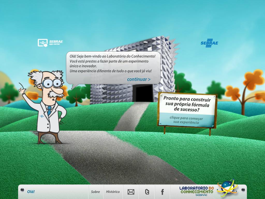 Laboratório do Conhecimento - screenshot