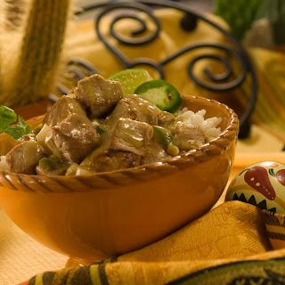 Green Chili Pork Stew