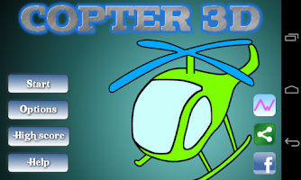 Screenshot of Copter 3D