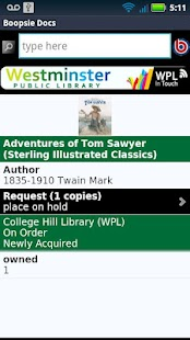 Westminster Library In Touch- screenshot thumbnail