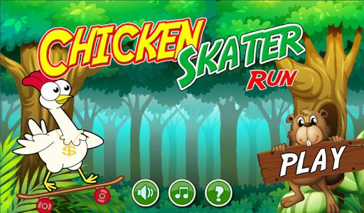 Skater Chicken Run