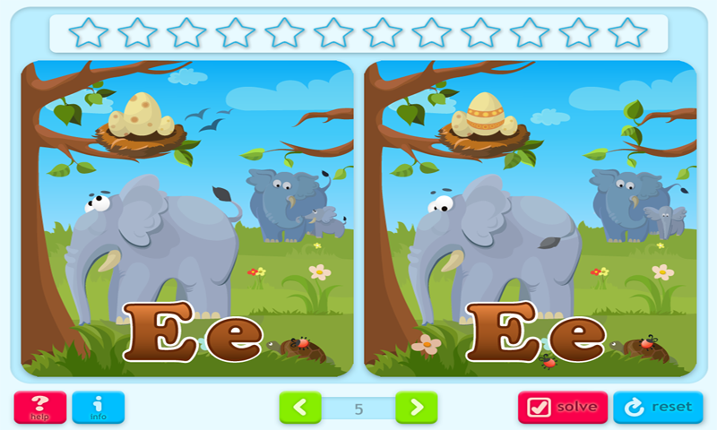 Find the Difference Game 3 Lite: ABCs- screenshot