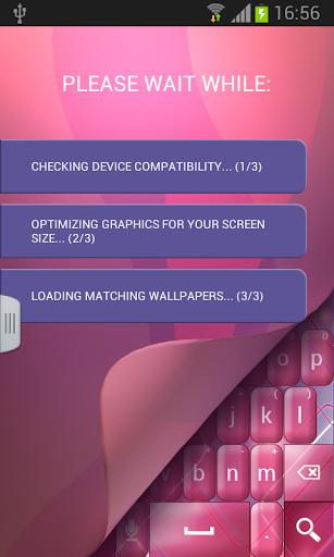 玩免費個人化APP|下載A.I.Type粉紅主題א app不用錢|硬是要APP