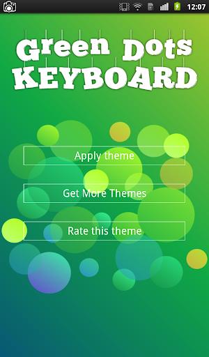 Green Dots Keyboard