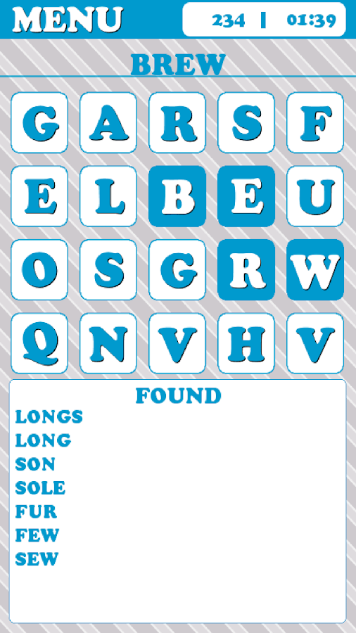 Words Rumble - FREE- screenshot