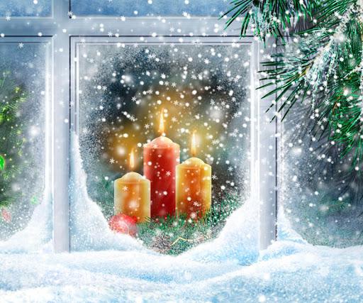 夜晚风光聖誕壁紙