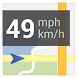 Navigation speedometer icon