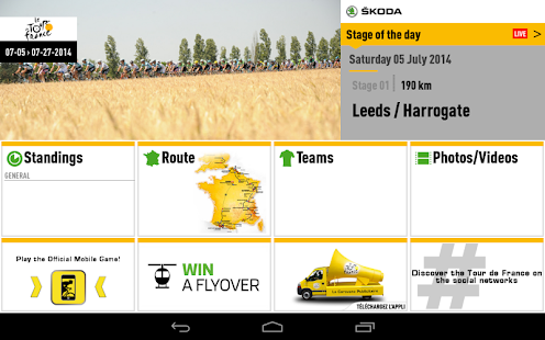 TOUR DE FRANCE 2014 by ŠKODA - screenshot thumbnail