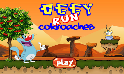Oggy Run Cokroaches