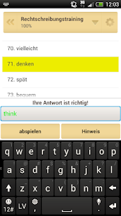 QuickTeacher Englisch - screenshot thumbnail