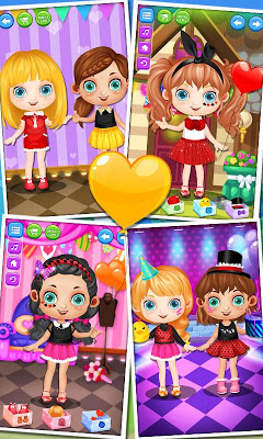 Dress Me Up! Grand Party Salon - screenshot
