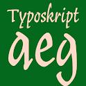 Typoskript Pro FlipFont icon