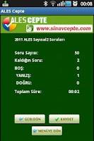 Screenshot of ALES Cepte