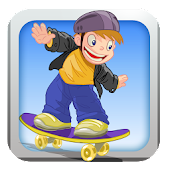 cRaZy Skateboard Skater Dude