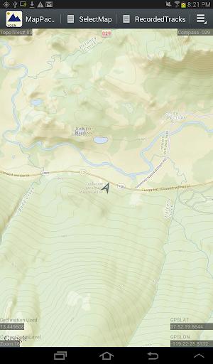 MapPack-GPS Yosemite North