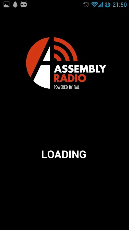 Assembly Radio - screenshot
