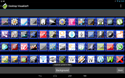 Blue Square Launcher Theme v1.1