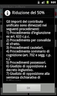 Calcolo Contributo Unificato - screenshot thumbnail