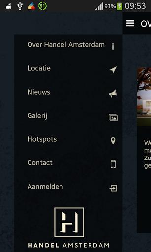 Handel Amsterdam Office App