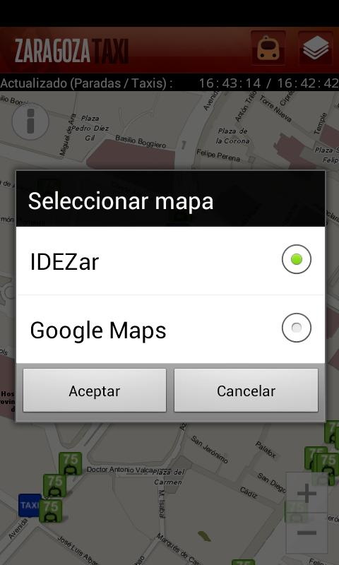 Zaragoza Taxi- screenshot