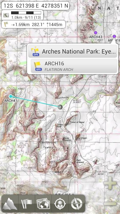 AlpineQuest GPS Hiking- screenshot