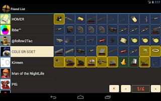 Screenshot of TF2 Backpack Viewer