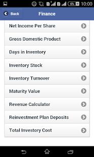 Calculators screenshot