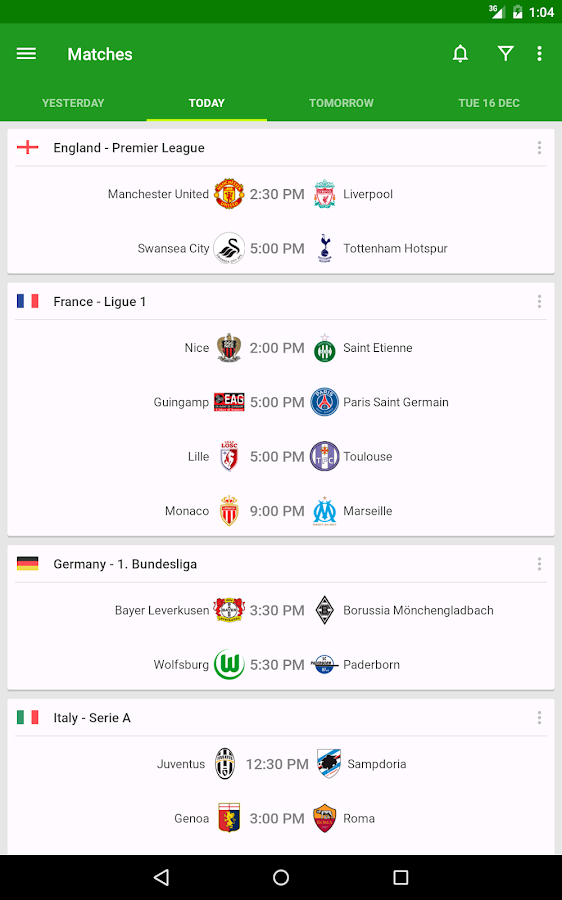 Soccer Scores - FotMob - screenshot