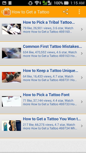 How to Get a Tattoo 玩生活App免費 玩APPs