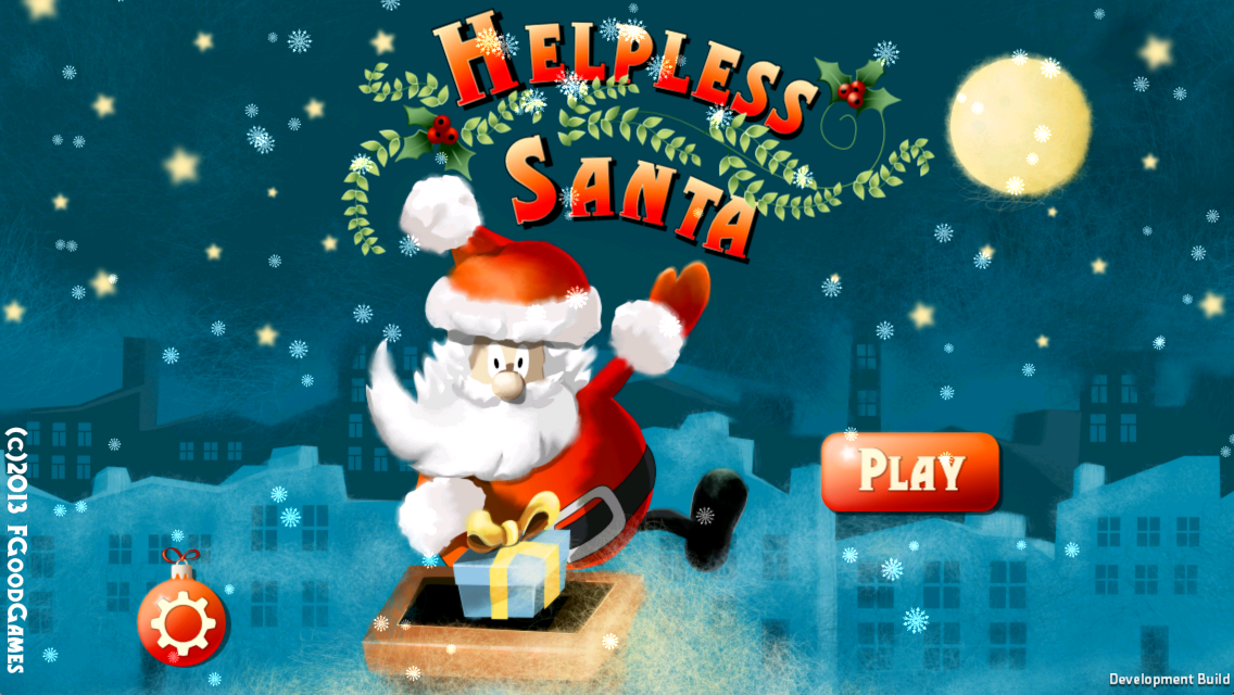 Helpless Santa - screenshot