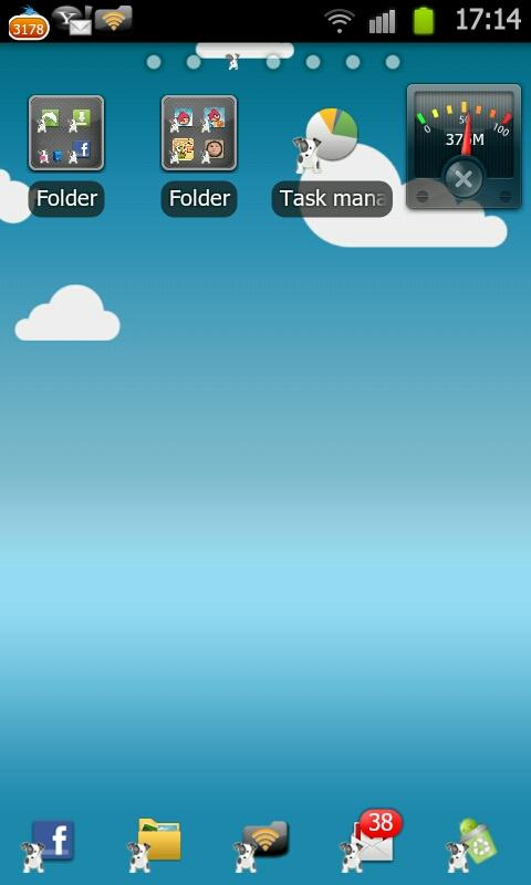 My Puppy Go Launcher Ex Theme - screenshot