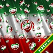Heart Flag Iran Free