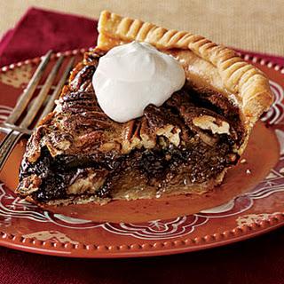 Tipsy Chocolate Pecan Pie.