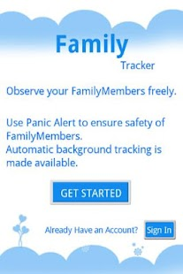 cheapest family tracker- screenshot thumbnail