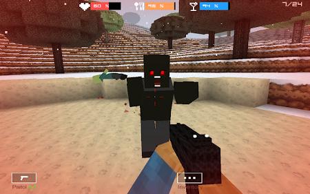 Cube Gun 3D : Winter Craft 1.0 screenshot 44136