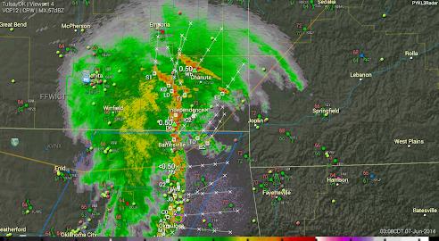 PYKL3 Radar (USA NEXRAD/TDWR) Screenshot 18