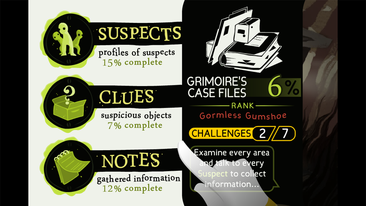 Detective Grimoire - screenshot