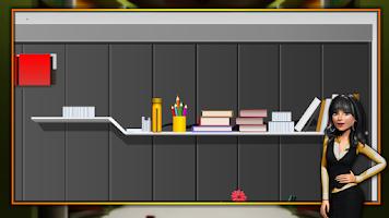 Screenshot of Modern Study Room Escape