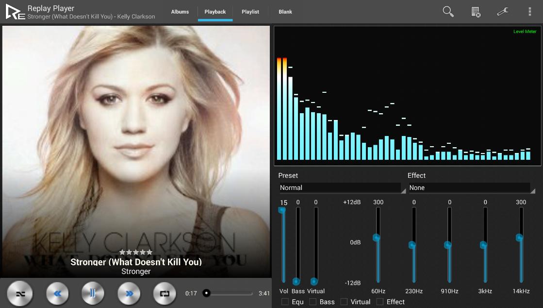 Replay Music Player (Trial) - screenshot