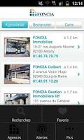 Screenshot of FONCIA