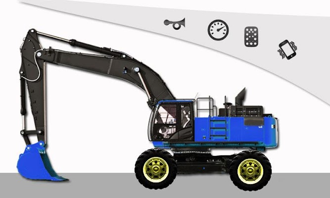 Excavator Fun For Kids - screenshot