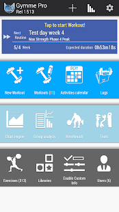 Gymme - Gym Personal Trainer- screenshot thumbnail