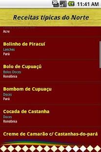 Sabores do Brasil- screenshot thumbnail