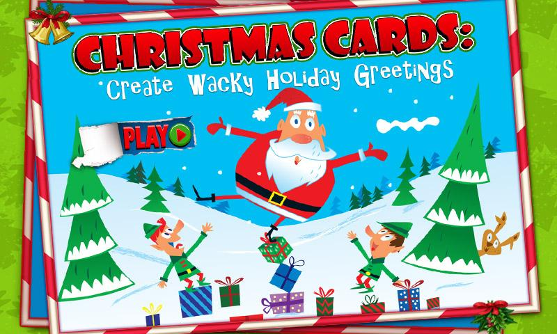 Wacky Christmas eCard - screenshot